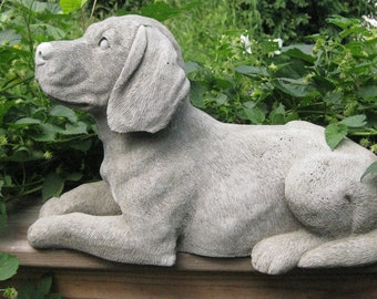 Large Concrete BEAGLE Dog Statue ( Shipping is for East of the Mississippi River)