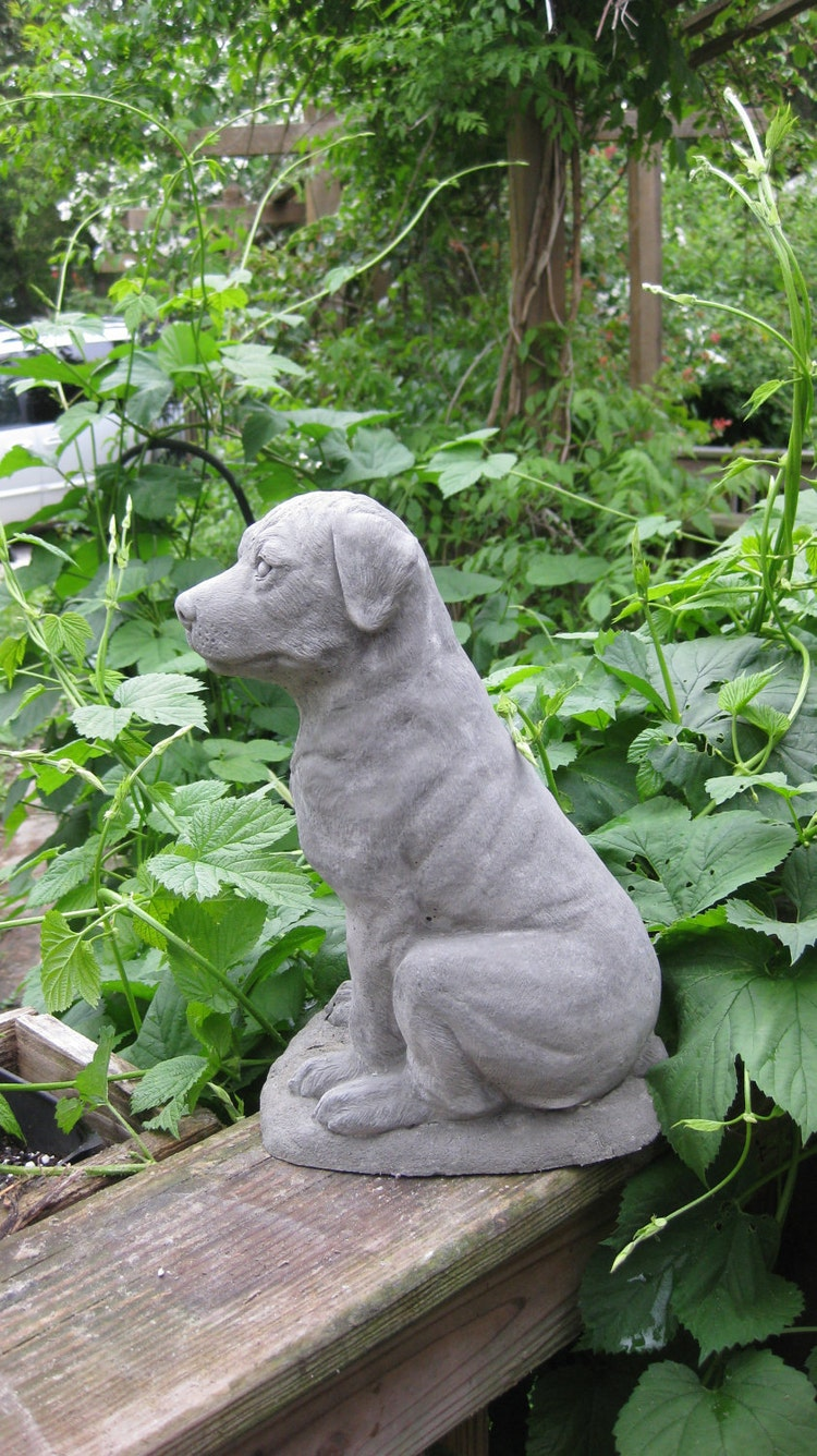 rottweiler statue vivid arts rottweiler statue garden. Black Bedroom Furniture Sets. Home Design Ideas