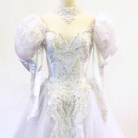 Bridal gown / Etsy Weddings / Tulle and Lace / Wedding Gown / Princess Bride / Fairy Tale Wedding Beauty
