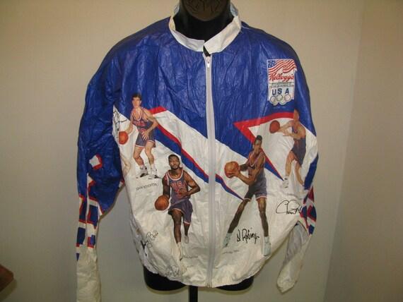 Vintage 1992 Olympics Dream Team Kellogg's Jacket - Size Large
