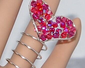 Glorious Heart Finger Wrap ...