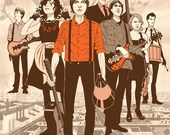 Arcade Fire Digital Print