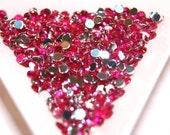 BLOWOUT SALE  Hot Pink rhinestones 3mm - 500 pcs