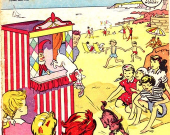 Sunny Stories Comic Book 1950s