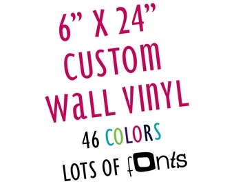 Removable Wall Vinyl Letters Custom Personalized Wall Safe Stickers Quotes Temporary Damage Free Nursery Crib Kid Child Bedroom Room