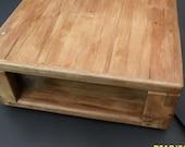 Reclaimed hardwood amp. box