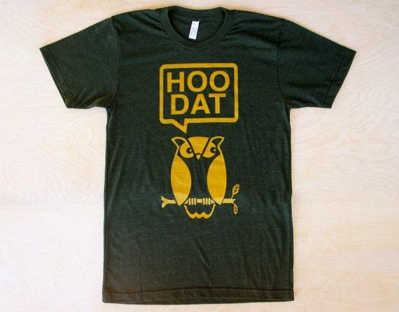 "New Orleans Saints ""Hoo Dat""  T-Shirt"