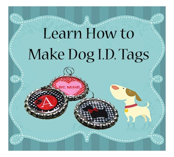 Dog Collar id Tags Instant