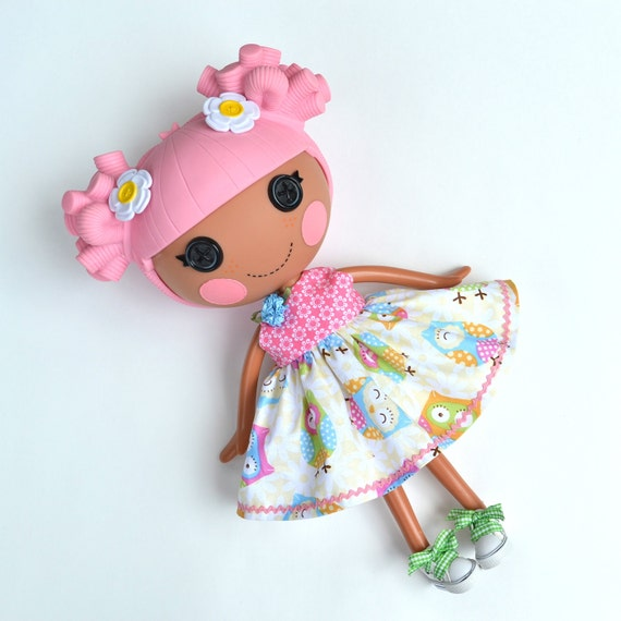 Hoot Hoot Owl Dress for Full Size Lalaloopsy Doll