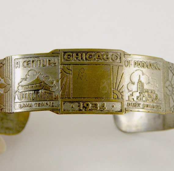 Chicago 1934 Centennial-Souvenir Bracelet