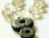 Macedonia Spindles With Faceted Quartz.