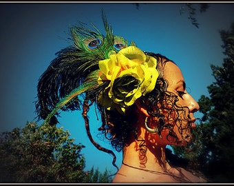 SALE ITEM : Feather Headress -The Guardian