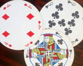 Vintage Rondo Circular Playing Cards by Waddingtons  - Complete Deck with Box