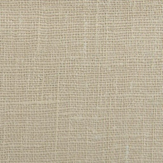 "51"" x 56"" - One Piece - End of the roll - Belgian Linen Fabric - Medium Weighted Linen - 7.5 oz Linen Fabric  Color- Linen"