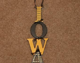 IOWA Hawkeye sign
