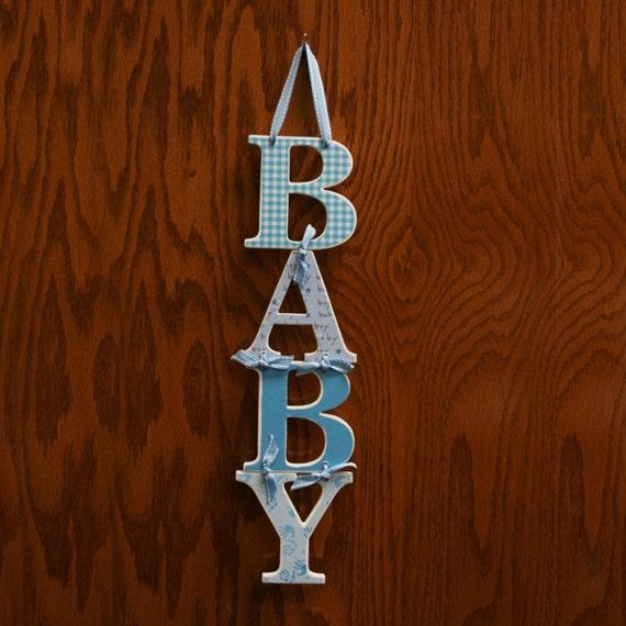 BABY boy sign