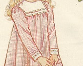 Butterick 4827 Strawberry Shortcake Childs Dress Size 2-3-4