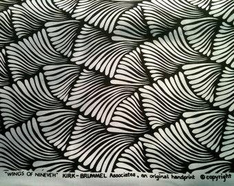 Vintage Kirk Brummel Mod Mid Century Brunschwig & Fils Fabric