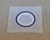 Round Bookplates, Envelopes & Instructions - Set of 12