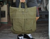 Mens Bag: Army Helmet Bag by Unions of Smith