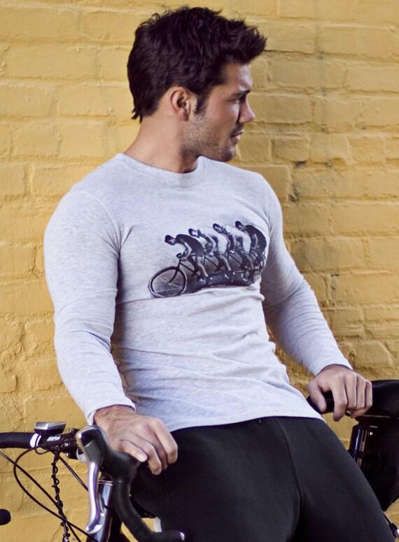Long sleeve shirt for men - mens clothing - cyclist
