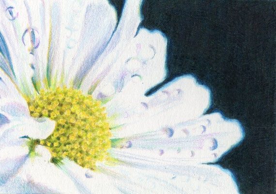 Original ACEO for WaterAid - Day 26: Light Up the Dark