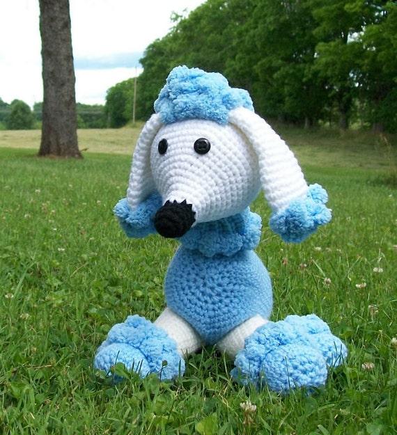 RESERVED FOR KATHARINE - Poodle - Stuffed Animal - Amigurumi - Hand Crocheted