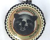 Mammoth Brewing Company Beaded Zipper Pull