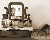 Memories - 8 x 12 Fine Art Photography - mirror on dresser