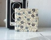 "Mini pocket photo album ""British flair"" - OOAK"