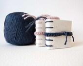 Mini book / photo holder for newborns - eco friendly