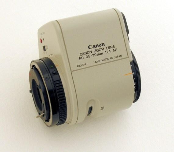 Vintage lens. Canon FD 35-70mm f4.0 AF Zoom lens