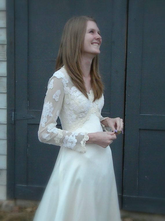 Vintage Priscilla of Boston Wedding Dress by LasterdayVintage
