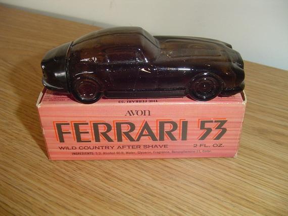 Avon '53 Ferrari Car Decanter - Wild Country After Shave - Vintage