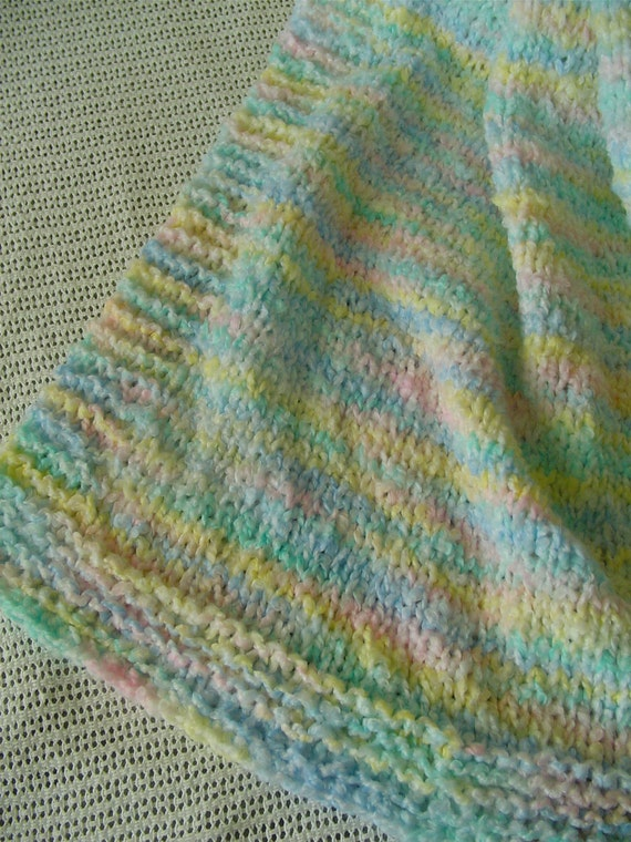 Baby Blanket - Varigated Colors - Soft and Cudly - Slpecial Pricing