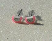 Teeny Tiny Dragonfruit Stud Earrings