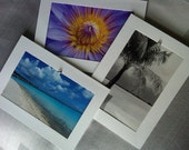 CHARM  Blank Photo Greeting Cards-Photographs from Bora Bora