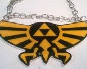 Ledgend of Zelda Hyrule Crest Necklace