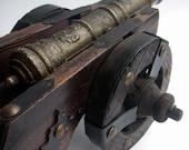 Battle of Shiloh - VINTAGE - Miniature Cannon Model - Civil War / Battle / Military - Home Decor, vestiesteam