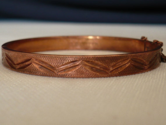 Vintage Solid Copper Bracelet