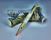 30 Caliber Bullet Cartridge Roller Ball Pen