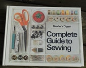 Vintage Reader's Digest Complete Guide to Sewing
