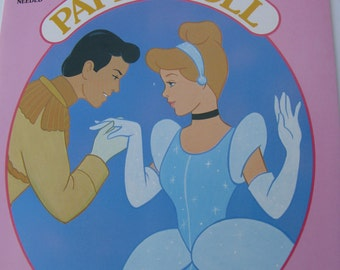 Cinderella Paper Doll Book-1989