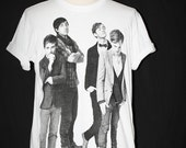 Grizzly Bear American Indie Rock White Unisex Man T-Shirt Size M