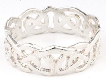 Celtic Ring Sterling Silver