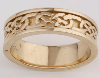 9ct gold celtic yellow gold