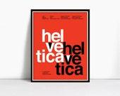 16 x 20 Gicleè Suisse Swiss Helvetica Type Specimen Poster