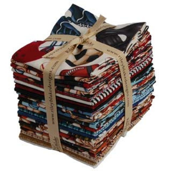 """25 Fat Quarters - Riley Blake's """"PlayBall"""" Entire Collection"""