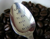 Coffee Spoon Love you to the moon and back spoon