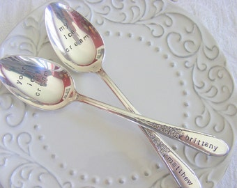 Ice Cream Spoons Your Ice Cream My Ice Cream Spoon Set